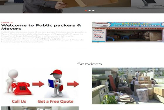 Public packers & Movers