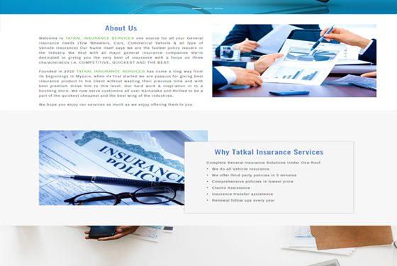 Tatkal Insurance Services