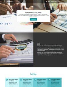 Auditor web template