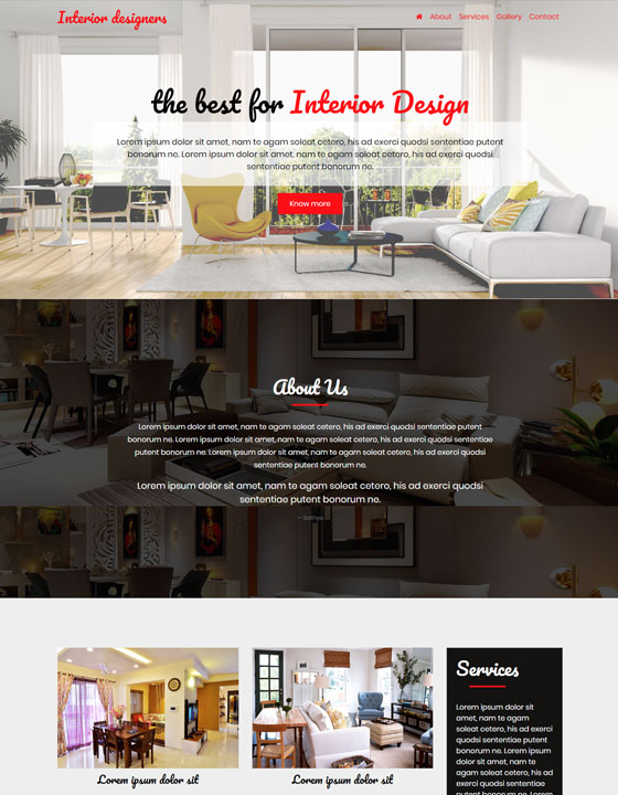 Interior Designers w...