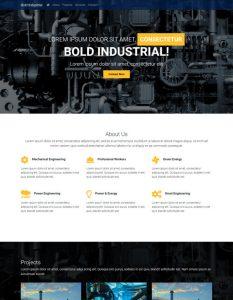 Industrial web templ...