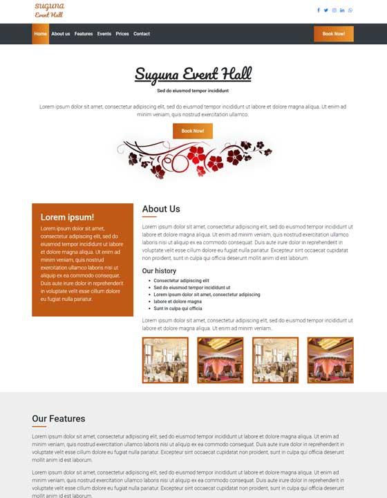 Banquets and Event Halls