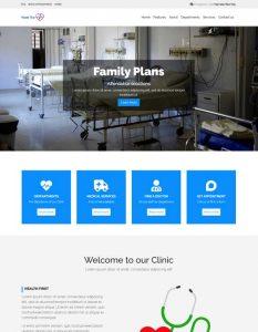 Hospital web templat...
