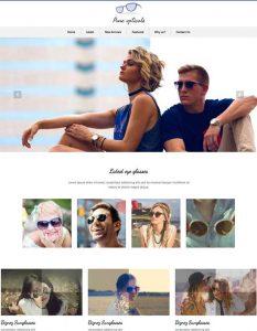 Opticals web templat...