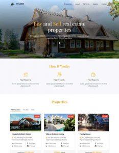 Real Estate web temp...